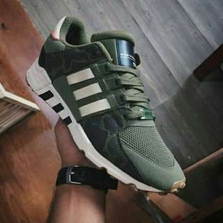 """Adidas EQT Support RF OLICAR """"Green/CamoOlive/Off White"""" (BB1321)."""