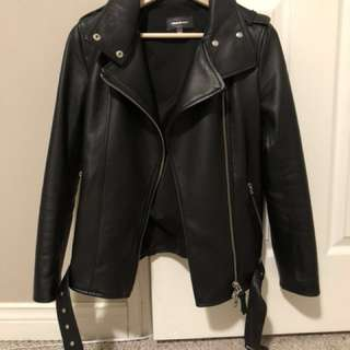 Mackage Selenia Leather Jacket xxs