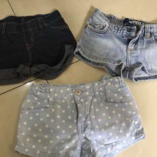 3 short for only 200
