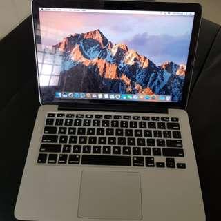 "16gb 500gb MacBook pro retina 2015 13"""