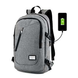 Korean Bagpack w/ Usb Plug