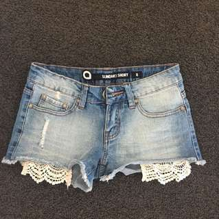 Sundance shorts (size 8)
