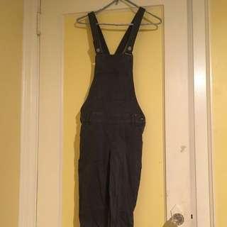 Black Hollister Overalls