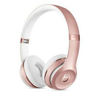 Beats Solo3 Wireless Headphones Special Edition- Rose Gold