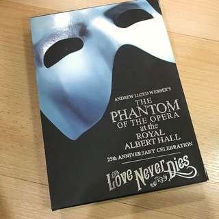 Original Phantom of the Opera & Sequel DVDs