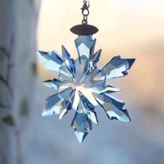Christmas, snowflake car hang