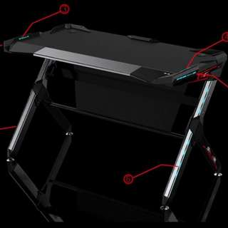 Gamer's Computer Table w/ LED touch panel comtrol