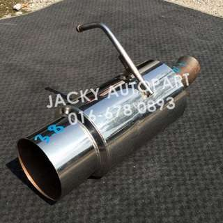"Muffler Exhaust Jdm Cannonball Kcar 1.9"" Japan"