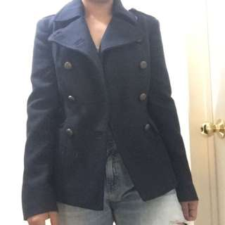 FCUK trench wool jacket