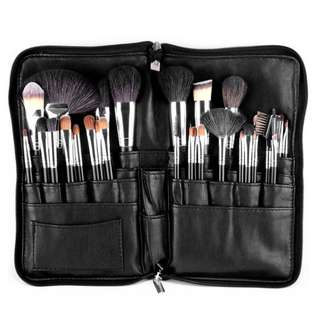 MSQ 32Pc Brush Foundation Eye Shadow Makeup Brush With PU Bag Makeup Cosmetic Beauty tool