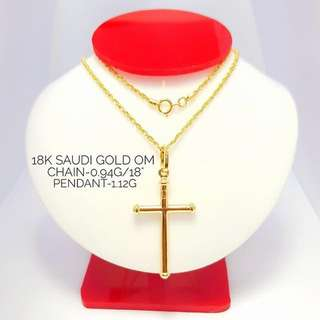 18K SPECIAL SAUDI GOLD NECKLACE