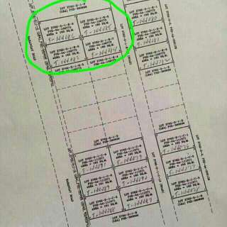 4 Vacant Lots, 160 sqm each Clean Title