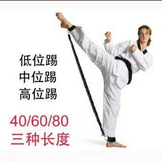 [預訂貨品] 跆拳道訓練皮筋器材腿部肌肉踢腿訓練器阻拉彈力繩器爆發力量健身 (健身系列) (包Buyup自取站取貨) (舉國推廣系列) (#rep#) (買2套九五折) (stretching power training)