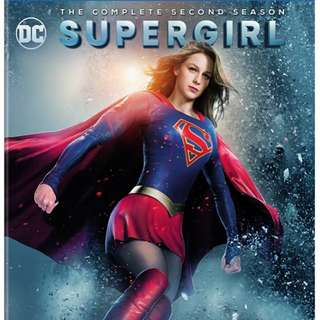 Supergirl Complete Season 2 Bluray set 4 discs