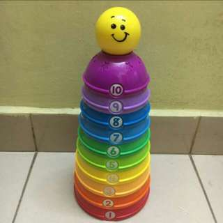 Fisher price stack & roll