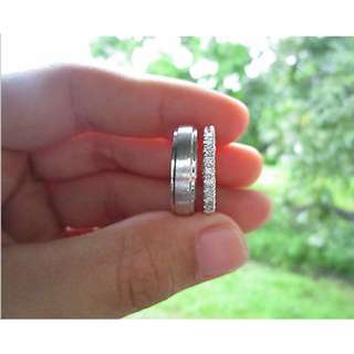 .36 Carat Diamond White Gold Wedding Rings 14K CODE WD016