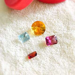 Fine quality jewelry class gemstones 💎 優質珠寶級切割晶石
