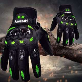 Monster Kawasaki KTM MotorBike Gloves 🏍