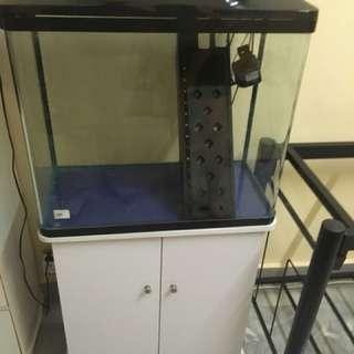 Aquarium + Cabinet