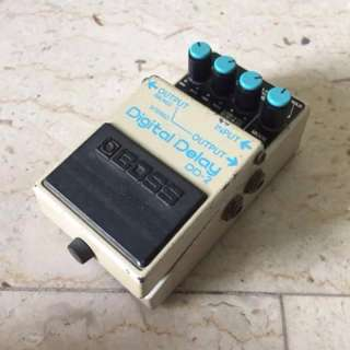 Boss DD-2 Digital Delay Japan Discontinued Vintage Electric Guitar Effects Pedal