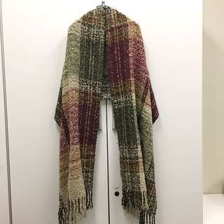 Very soft baby wool scarf