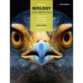WTB NELSON BIOLOGY (Want to buy)