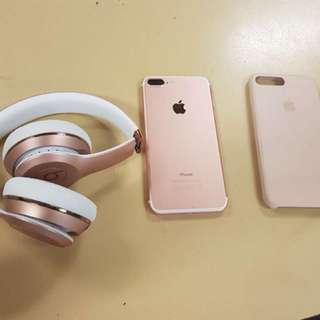 iPhone 7 Plus and beats solo 3