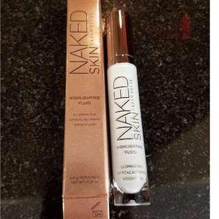 URBAN DECAY Naked Skin Highlighting Fluid(Full size, brand new)