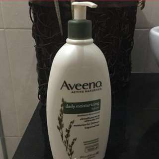 SALE! Aveeno Active Naturals daily moisturizing lotion