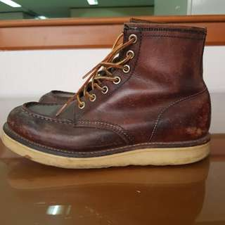 Seldom Venture Moc Toe Boots (not red wing)