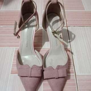 [REPRICED] Nude pink heels