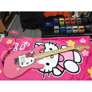 Hello Kitty Custom Electric Guitar Stratocaster