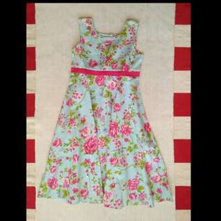Flower Dress umur 7-9th