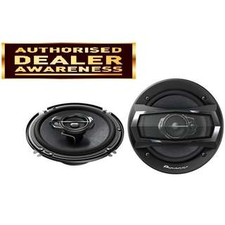 Pioneer TS-A1675S 6'' 3-Way Speaker 300w (Pair)