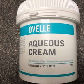 Aqueous CREAM 濕疹 (大量)
