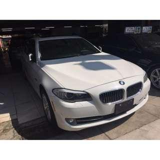 2011 BMW 寶馬 528 白 3.0