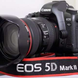 Canon 5D Mark II with 24-70 f2.8 USM