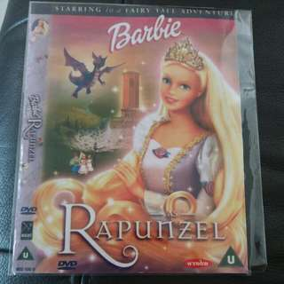 Barbie as Rapunzel DVD to bless / give away