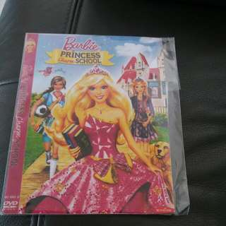 Barbie Princess Charm School DVD to bless / give away