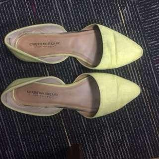 Flatshoes Suede Kuning
