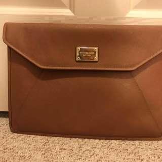 """Authentic Michael Kors Saffiano Leather Laptop Case 13"""""""