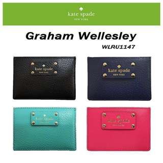BNWT Kate Spade card holder GRAHAM WELLESLEY #1212YES