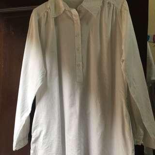 Dress pendek white