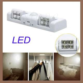 Cordless LED Light with Motion Activated Sensor
