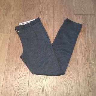 Zara dark grey trousers pants