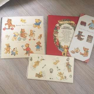 日本 熊bear bear紙物 中古產品