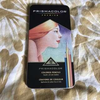 Prismacolor Premier 12 Colored pencils