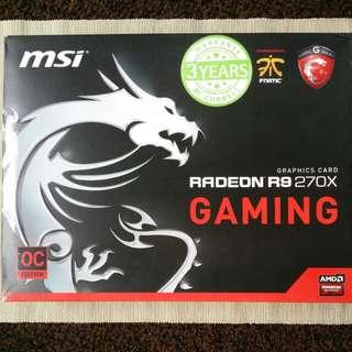 Msi Radeon R9 270X 2GB