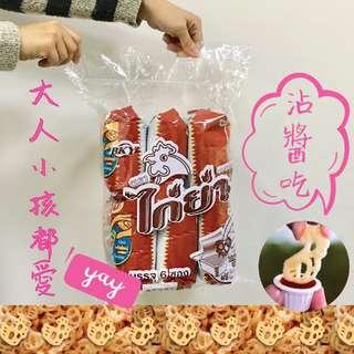 【泰國超人氣】白小雞沾醬餅*6包 (超值組)