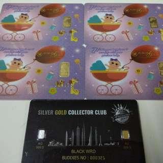 PUBLIC GOLD 1 GRAM 999.9  BABY/NEWBORN